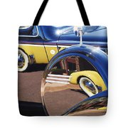1937 Cord 812 Phaeton Reflected Into Packard Tote Bag