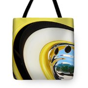 1937 Cord 812 Phaeton Wheel Rim Reflecting Cadillac Tote Bag