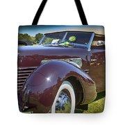 1937 Cord Phaeton Tote Bag