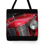 1937 Desoto Front Grill And Head Light 7285 Tote Bag