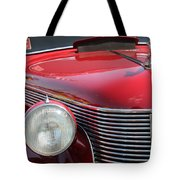 1937 Desoto Front Grill And Head Light-7289 Tote Bag