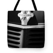 1937 International D2 Pickup Truck Grille Emblem Tote Bag