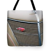 1937 Lincoln-zephyr Coupe Sedan Grille Emblem - Hood Ornament Tote Bag