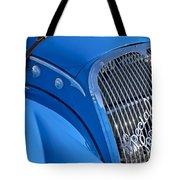 1937 Peugeot 402 Darl'mat Legere Special Sport Roadster Recreation Grille Emblem Tote Bag