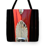 1937 Plymouth  Emblem Tote Bag