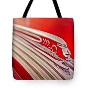 1937 Pontiac Chief Custom Hood Ornament Tote Bag