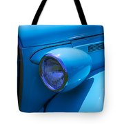 1938 Blue Plymouth Coupe Tote Bag