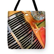 1938 Chevrolet Coupe Grille Emblems Tote Bag