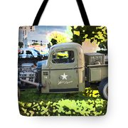 1938 Chevy Pick Up Truck Rat Rod Tote Bag