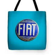 1938 Fiat 508c Berlinetta Speciale Emblem Tote Bag