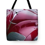 1938 Lincoln-zephyr Convertible Coupe Grille - Hood Ornament - Emblem Tote Bag