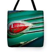 1938 Lincoln Zephyr Emblem Tote Bag