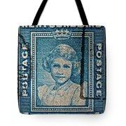 1938 Queen Elizabeth II Newfoundland Stamp Tote Bag