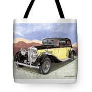 1939 Bentley Mark Four Sport Sedan Tote Bag