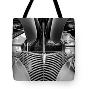 1939 Chevrolet Coupe Grille -115bw Tote Bag