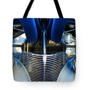 1939 Chevrolet Coupe Grille -115c Tote Bag