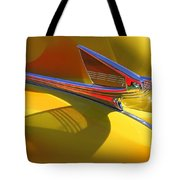 1939 Chevy Hood Ornament Tote Bag
