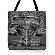 1939 Chevy Immenent Front Bw Art Tote Bag