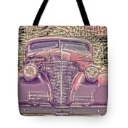 1939 Chevy Immenent Front Color Tote Bag