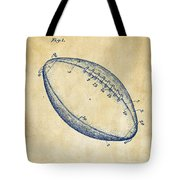 1939 Football Patent Artwork - Vintage Tote Bag