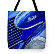 1939 Ford Woody Wagon Side Emblem Tote Bag