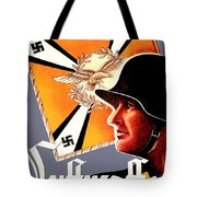 1939 German Luftwaffe Recruiting Poster - Color Tote Bag