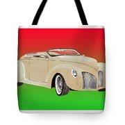 1939 Lincoln Zephyr Speedster Tote Bag by Jack Pumphrey