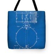 1939 Snare Drum Patent Blueprint Tote Bag