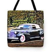1940 Cadillac Coupe Convertible Tote Bag