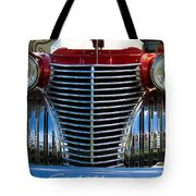 1940 Cadillac Coupe Front View Tote Bag