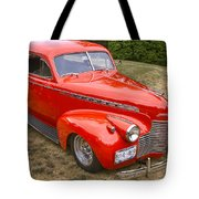 1940 Chevrolet 2 Door Sedan Tote Bag