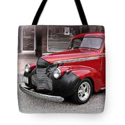 1940 Chevy Coupe Tote Bag