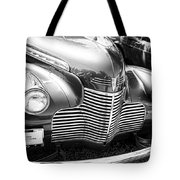 1940 Chevy Grill Tote Bag