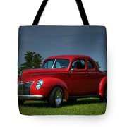 1940 Ford Coupe Tote Bag