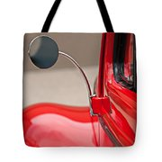 1940 Ford Deluxe Coupe Rear View Mirror Tote Bag