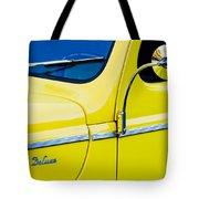 1940 Ford Deluxe Side Emblem Tote Bag