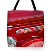 1940 Gmc Side Emblem Tote Bag