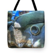 1940s Antique Chevrolet Hood View Tote Bag