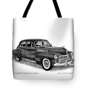 1941 Cadillac Fleetwood Sedan Tote Bag