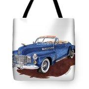 1941 Cadillac Series 62 Convertible Tote Bag