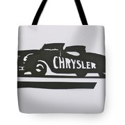1941 Chrysler Indianapolis 500 Pace Car Tote Bag