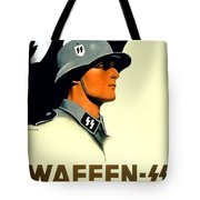 1941 - German Waffen Ss Recruitment Poster - Nazi - Color Tote Bag