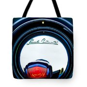 1941 Lincoln Continental Spare Tire Emblem - 1963c Tote Bag