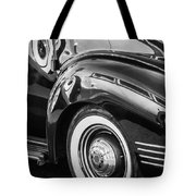 1941 Packard 110 Deluxe -1092bw Tote Bag