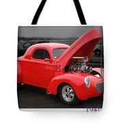 1941 Willys Tote Bag