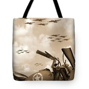 1942 Indian 841 - B-17 Flying Fortress' Tote Bag