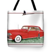 1942 Lincoln Continental Coupe Tote Bag