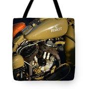 1942 Wla Harley Davidson Tote Bag