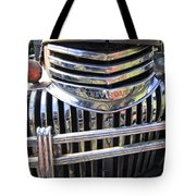 1946 Chevrolet Truck Chrome Grill Tote Bag