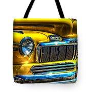 1946 Mercury Eight Street Rod Grille Tote Bag